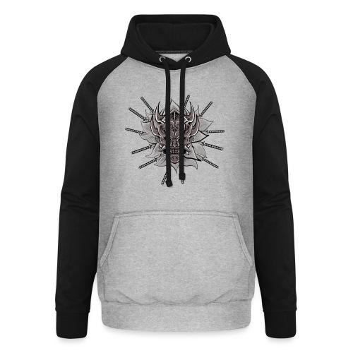 Lotus Of The Samurai - Unisex baseball hoodie