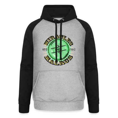 Miracles with Malrus - Unisex Baseball Hoodie