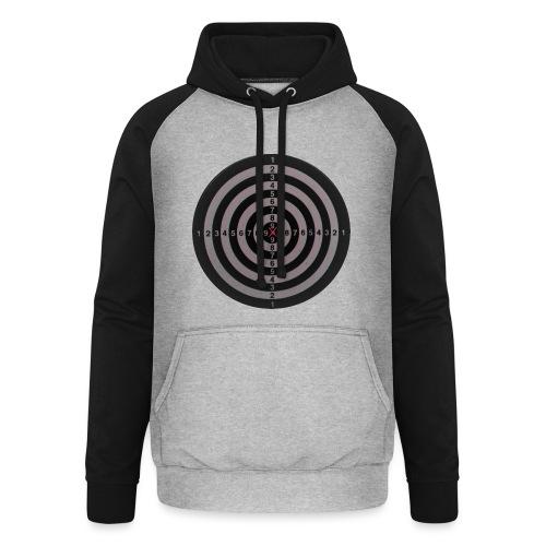 bullseye - Unisex baseball hoodie