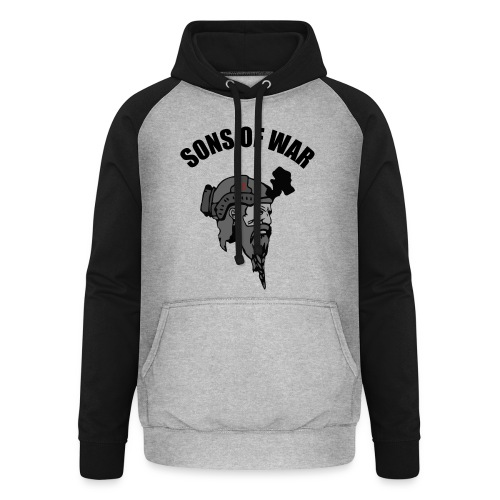 Sons of War oven - Unisex baseball hoodie