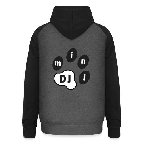 DJMini Logo - Unisex baseball hoodie