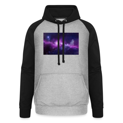 tshirt galaxy - Sweat-shirt baseball unisexe