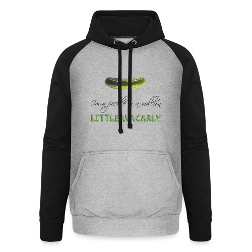 Im a pickle in a MILLION - Unisex Baseball Hoodie