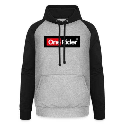 Colección OneRider® - Sudadera con capucha de béisbol unisex
