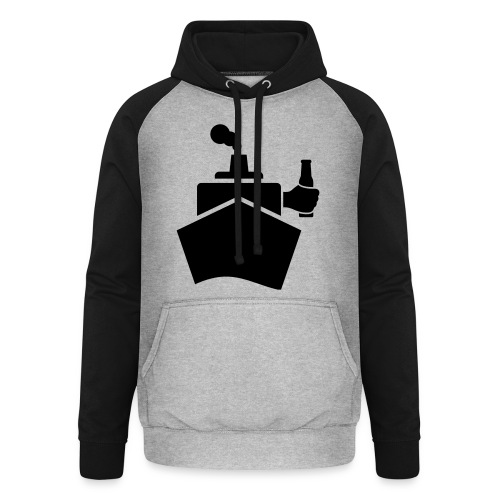 King of the boat - Unisex Baseball Hoodie