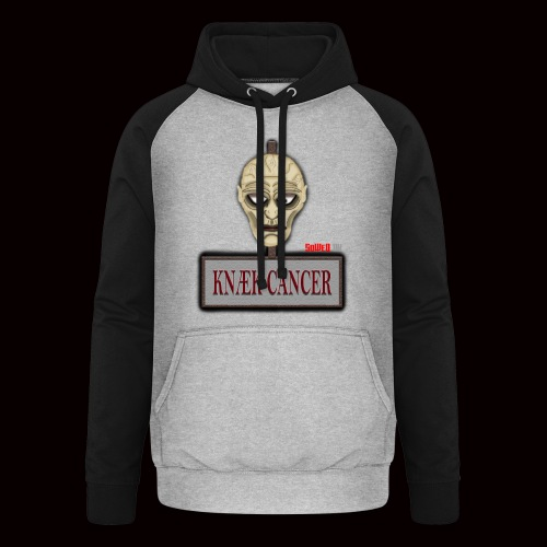 Knæk Cancer Kollektion ! - Unisex baseball hoodie