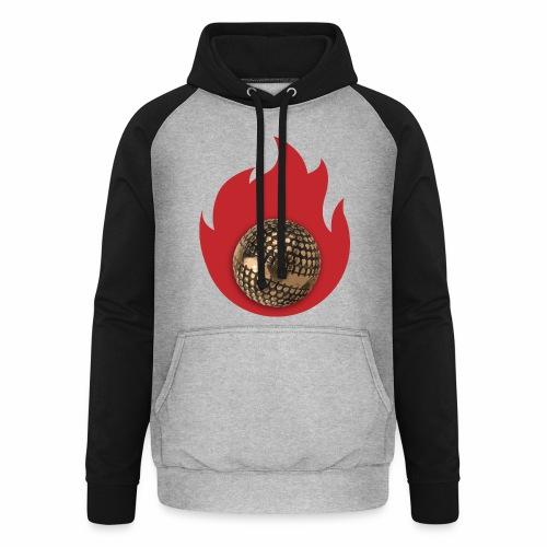 petanque fire - Sweat-shirt baseball unisexe