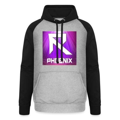 RTrixx Phoenix Logo - Unisex Baseball Hoodie
