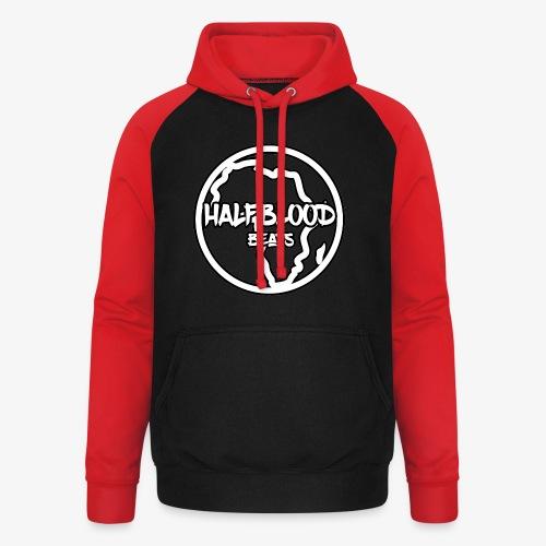 halfbloodAfrica - Unisex baseball hoodie
