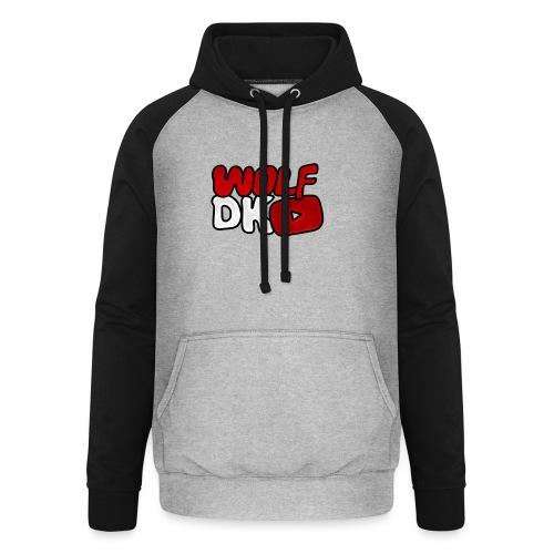 Wolf Dk - Unisex baseball hoodie