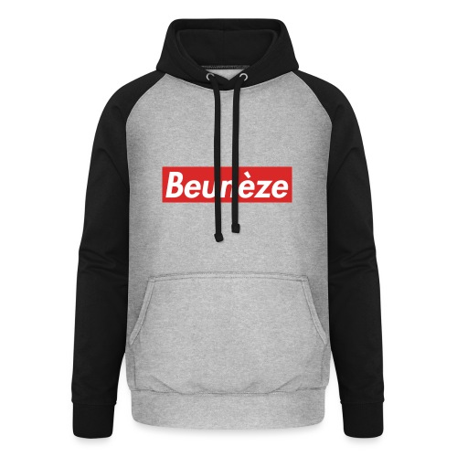 Beunèze - Sweat-shirt baseball unisexe