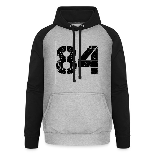 84 vo t gif - Unisex baseball hoodie