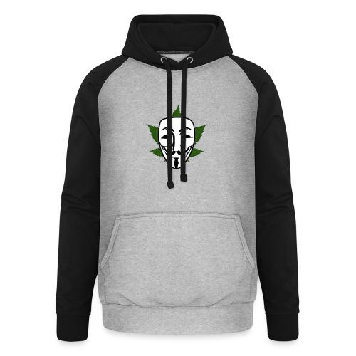 Anonymous - Unisex baseball hoodie
