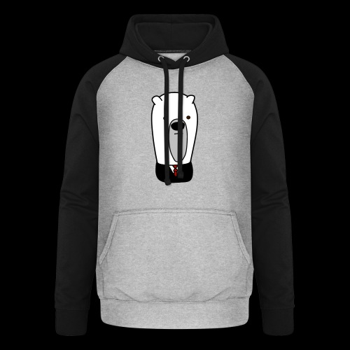 officel_polarbear_shop_logo - Unisex baseball hoodie