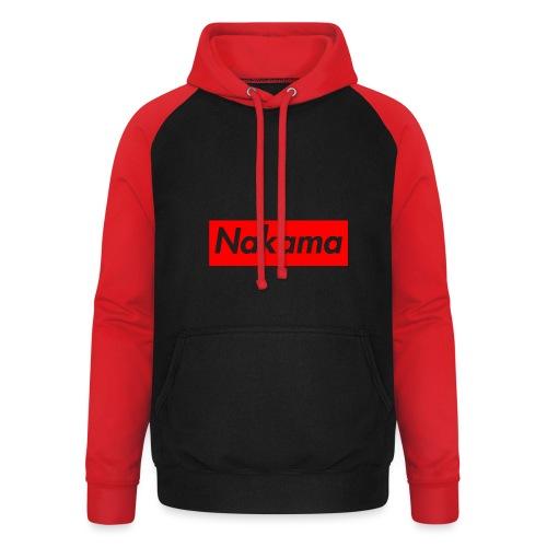 Nakama - Sweat-shirt baseball unisexe