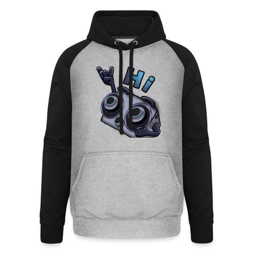 The DTS51 emote1 - Unisex baseball hoodie