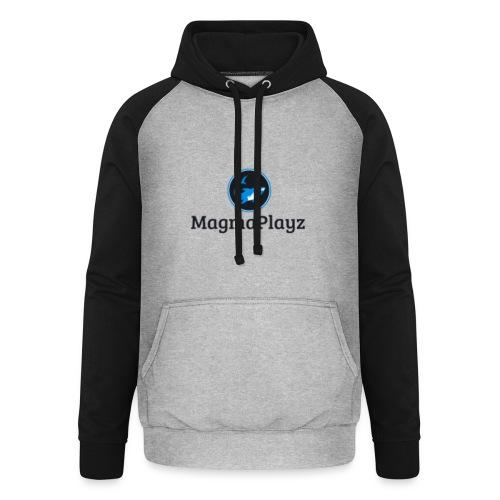 MagmaPlayz shark - Unisex baseball hoodie