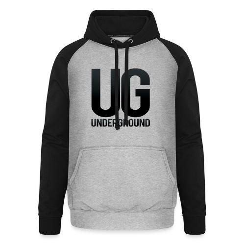 UG underground - Unisex Baseball Hoodie