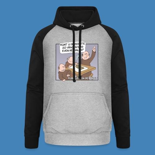 Pubquiz in de Abdij - Unisex baseball hoodie