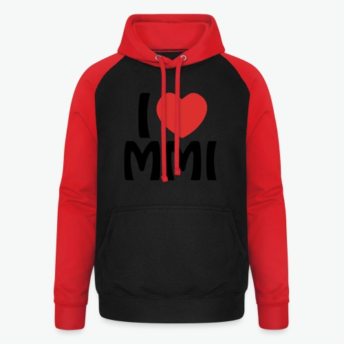I love MMI - Sweat-shirt baseball unisexe