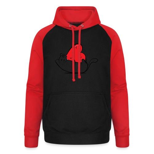 Cat Love - Unisex baseball hoodie