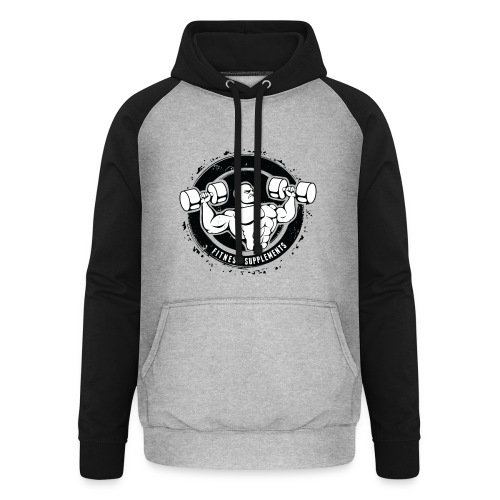 Fitness supplements - Unisex baseball hoodie