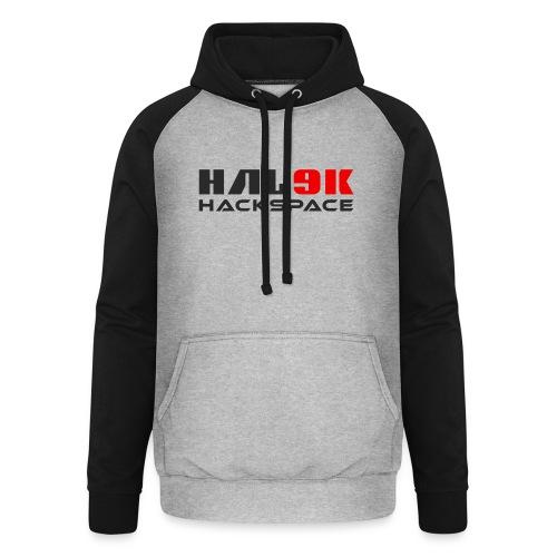 hal9k-hackspace - Unisex baseball hoodie
