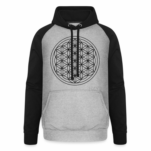 Flower Of Life - This Design Will Heal You - Unisex baseball hoodie