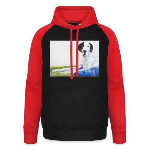 Grand danios harlequin - Unisex baseball hoodie