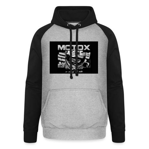 Motox a way of life - Unisex baseball hoodie