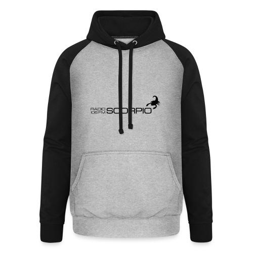 scorpio logo - Unisex baseball hoodie