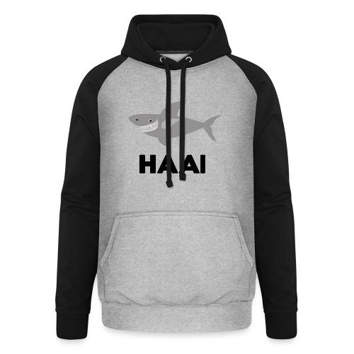 haai hallo hoi - Unisex baseball hoodie
