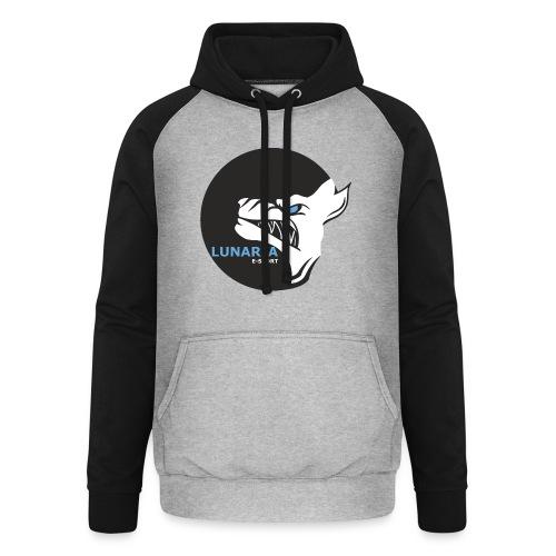 Lunaria_Logo tete pleine - Sweat-shirt baseball unisexe