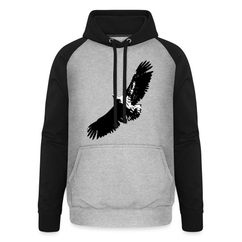 Fly like an eagle - Unisex Baseball Hoodie