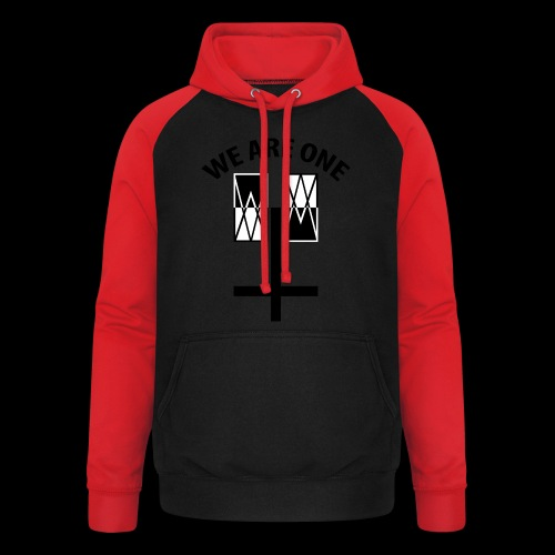 WE ARE ONE x CROSS - Unisex baseball hoodie