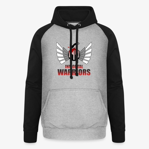The Inmortal Warriors Team - Unisex Baseball Hoodie