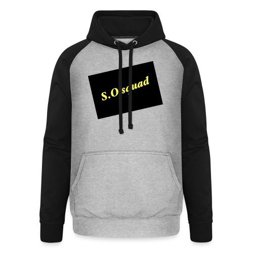 S.O squad - Sweat-shirt baseball unisexe
