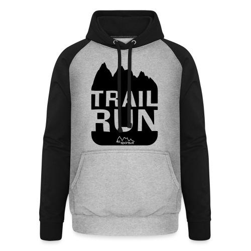 Trail Run - Unisex Baseball Hoodie