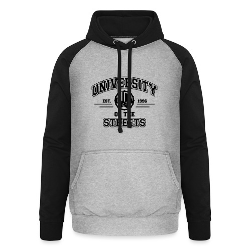 University of the Streets - Unisex Baseball Hoodie