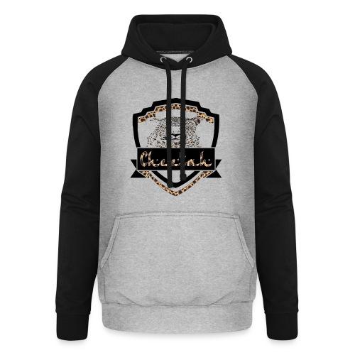 Cheetah Shield - Unisex Baseball Hoodie