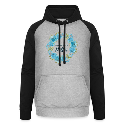 Verdens bedste datter - Unisex baseball hoodie