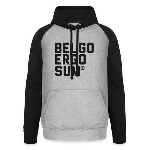 Belgo Ergo Sum - Unisex Baseball Hoodie