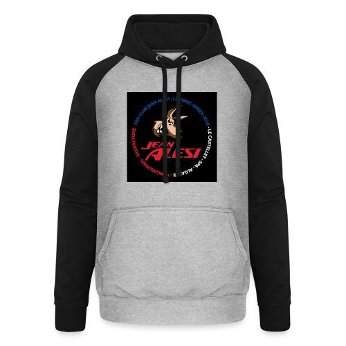 fanclubnoir - Sweat-shirt baseball unisexe