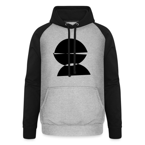 refugee rights abstract - Unisex Baseball Hoodie