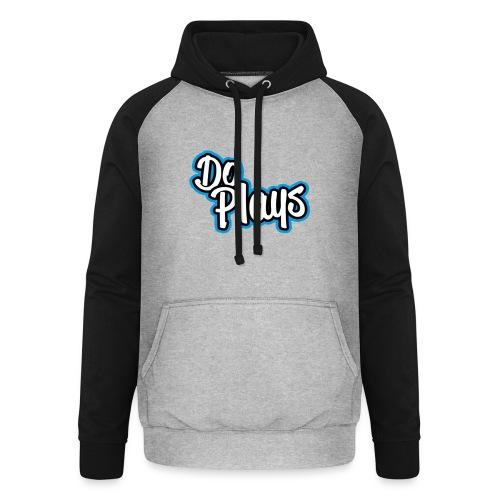 Muismat | Doplays - Unisex baseball hoodie