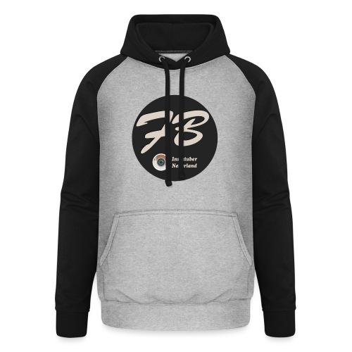 TSHIRT-INSTATUBER-NEDERLAND - Unisex baseball hoodie