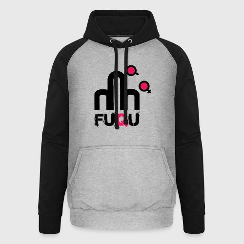 T-shirt FUQU logo colore nero - Felpa da baseball con cappuccio unisex