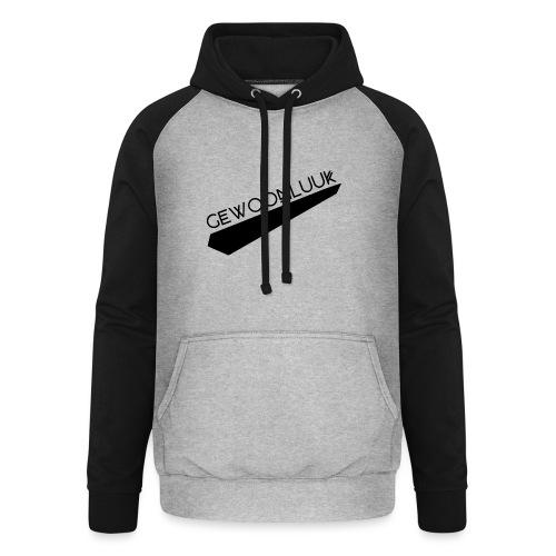 GewoonLuuk - Unisex baseball hoodie