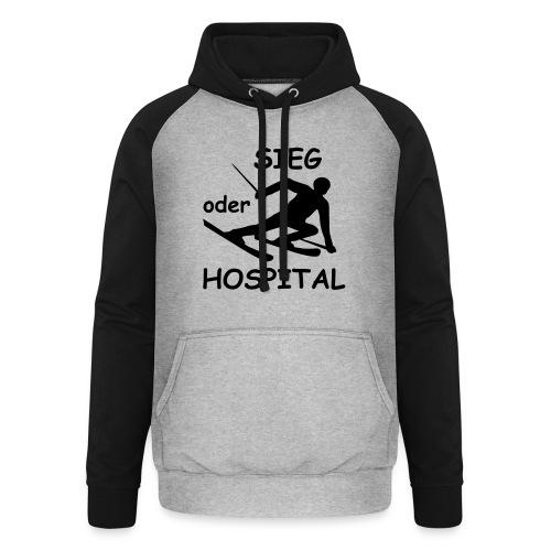 Sieg oder Hospital - Unisex Baseball Hoodie