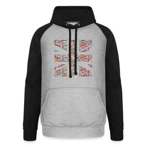 The Union Hack - Unisex Baseball Hoodie